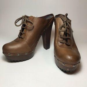 Sam Edelman Leather Faye Heels- Size 6M